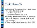 the elm cont d