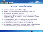 adrenal venous sampling
