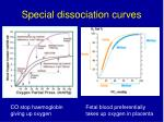 special dissociation curves