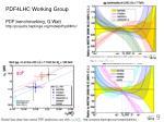 pdf4lhc working group pdf benchmarking g watt http projects hepforge org mstwpdf pdf4lhc