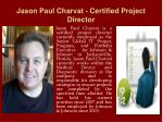 jason paul charvat certified project director