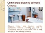 commercial cleaning services oshawa