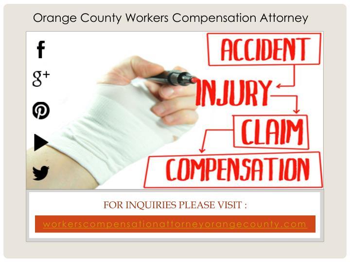 Orange County Workers Compensation Attorney