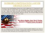 workers compensation lawyer orange county