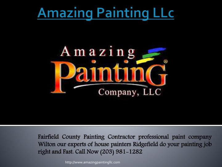 amazing painting llc n.