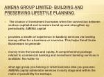 amena group limited building and preserving lifestyle planning2