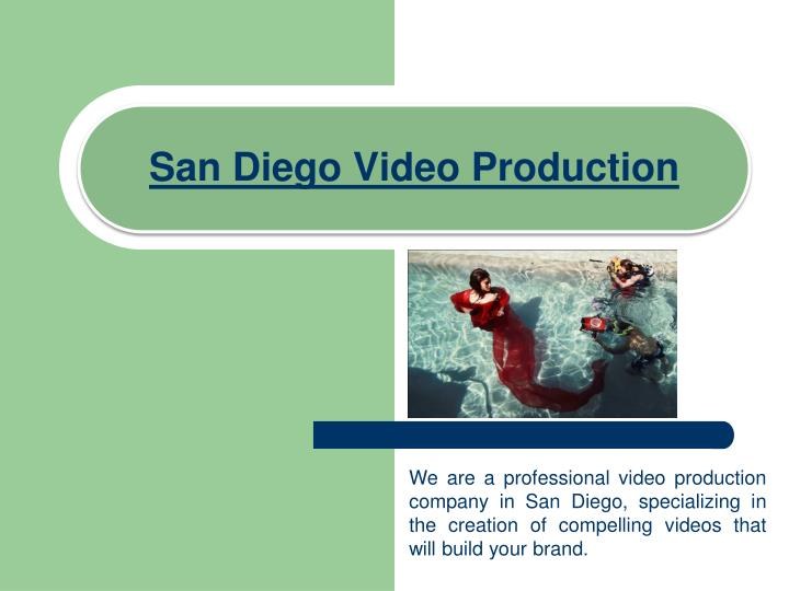 san diego video production n.