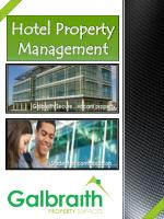 hotel property management