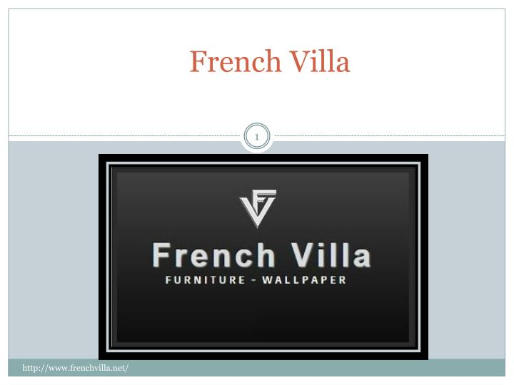 french villa n.