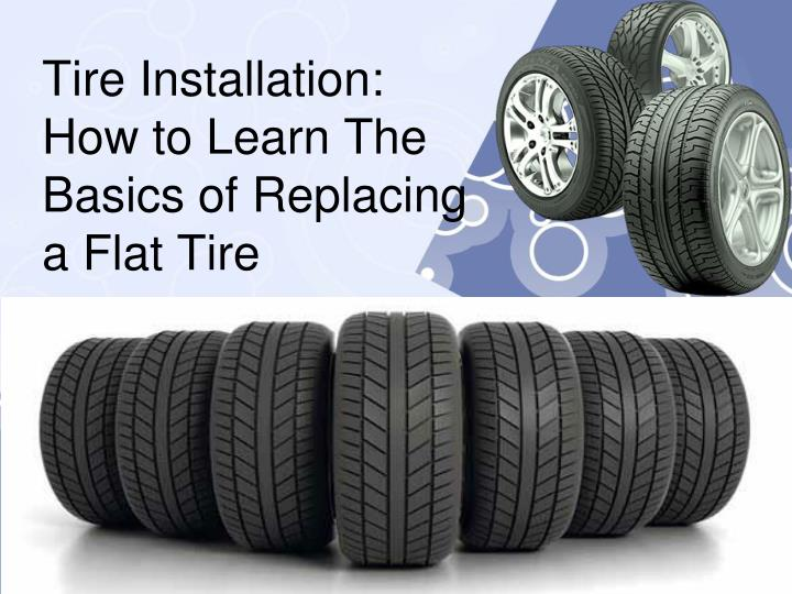 tire installation how to learn the basics of replacing a flat tire n.
