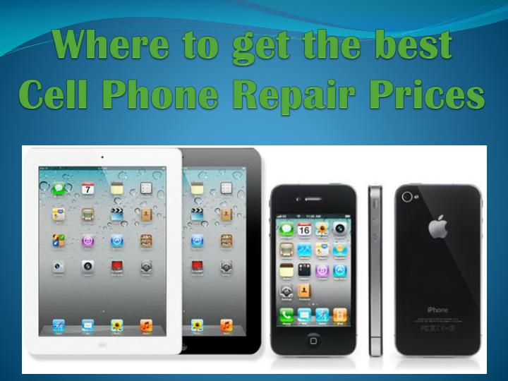 where to get the best cell phone repair prices n.