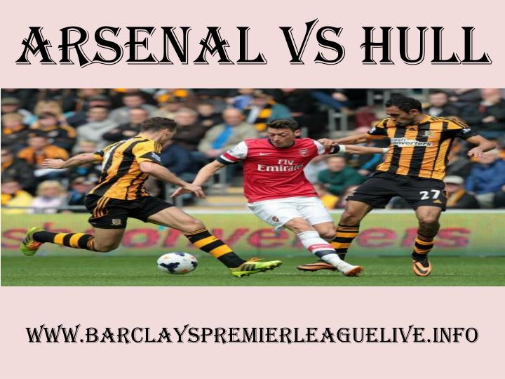 arsenal vs hull n.