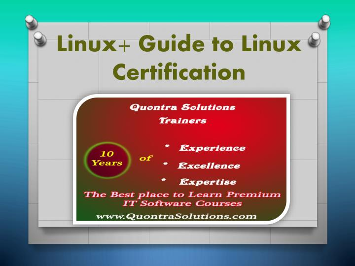 linux guide to linux certification n.