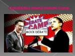 candidates attend debate camp