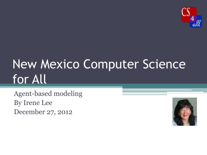 new mexico computer science for all n.