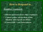 how to respond to4