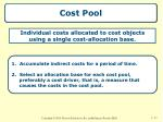 cost pool
