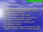 key problems