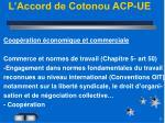 l accord de cotonou acp ue2