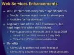 web services enhancements