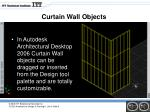 curtain wall objects1