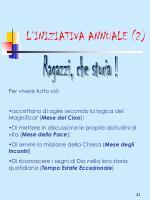 l iniziativa annuale 2