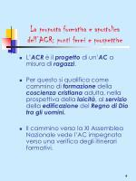 la proposta formativa e apostolica dell acr punti fermi e prospettive