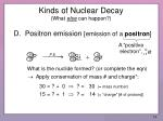 kinds of nuclear decay what else can happen2