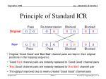 principle of standard icr