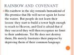 rainbow and covenant