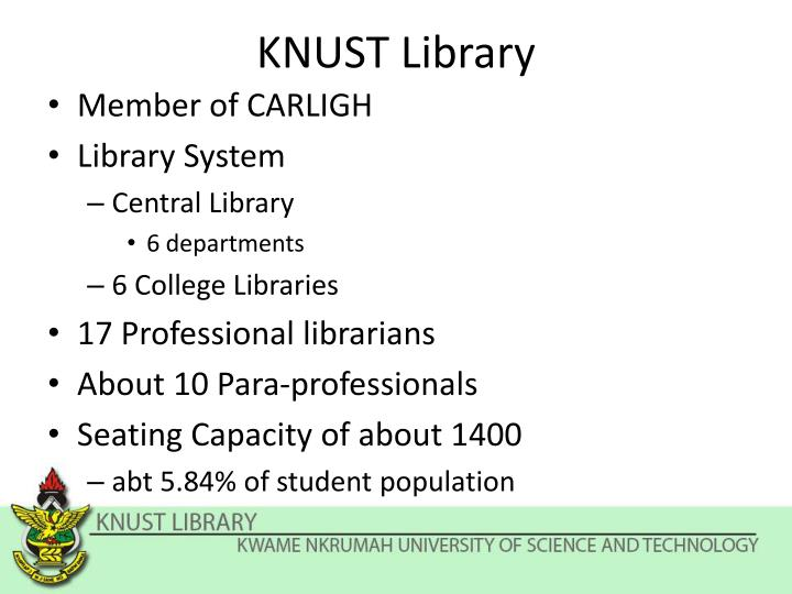 knust thesis repository