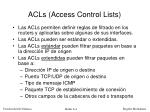 acls access control lists