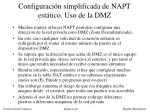 configuraci n simplificada de napt est tico uso de la dmz