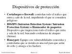 dispositivos de protecci n