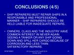 conclusions 4 5