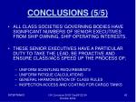 conclusions 5 5
