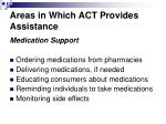 areas in which act provides assistance3