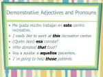 demonstrative adjectives and pronouns2
