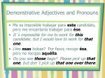 demonstrative adjectives and pronouns4