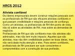 hrcs 2012