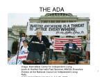 the ada