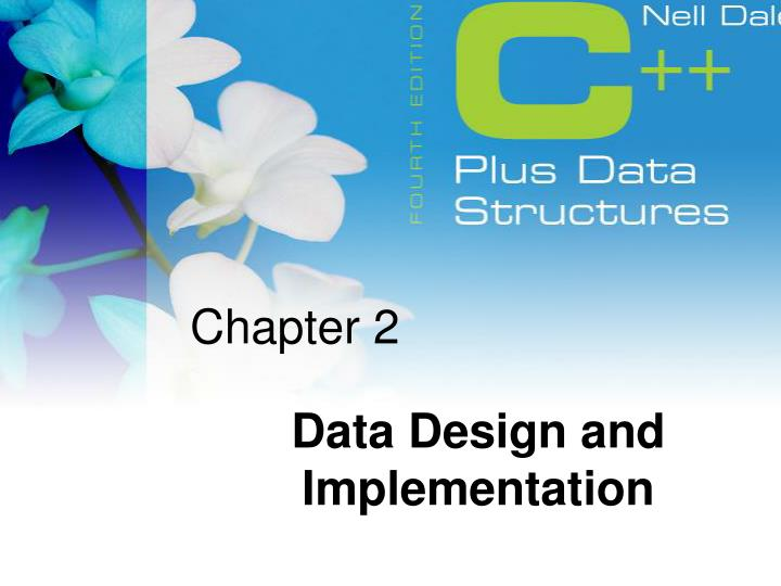 2 data design and implementation n.