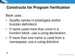 constructs for program verification4