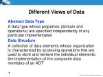 different views of data5