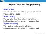 object oriented programming4