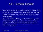 adt general concept1