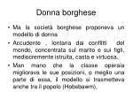 donna borghese