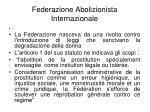 federazione abolizionista internazionale1