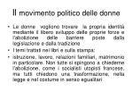 il movimento politico delle donne2