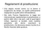 regolamenti di prostituzione